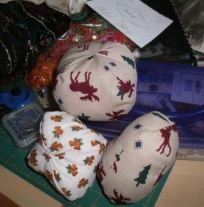 Christmas puffs
