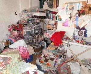 My studio, my scary room