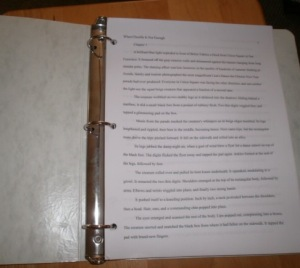 The manuscript is finished!