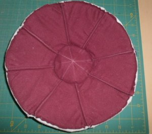 fabric bowl, ribs