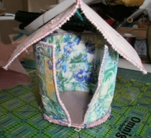 spirit house votive holder