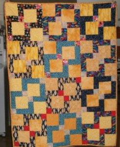 Lani Longshore Landon Leveille quilt