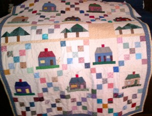 Lori Vogel's house blocks