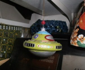 Space ships for the Christmas tree
