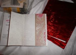 Lani Longshore handmade booklets