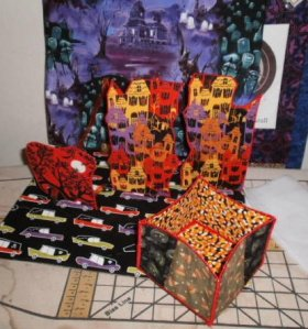 Lani Longshore Halloween pop-up book
