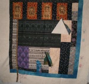 Lani Longshore Egyptian quilt top