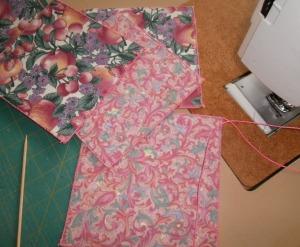 A little fabric, a little stiffener, a lot of zig-zagging