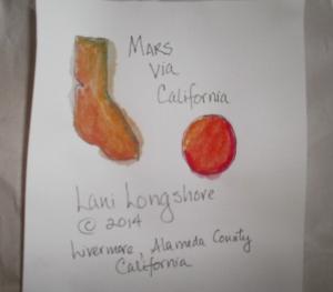 Lani Longshore quilt label