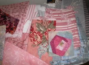 Lani Longshore pink fabrics