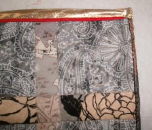 Lani Longshore Viking quilt binding
