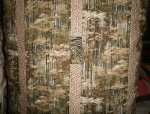 Lani Longshore green pillow detail