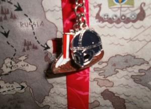 Lani Longshore Viking motif keychain