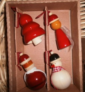 Lani Longshore Christmas ornaments