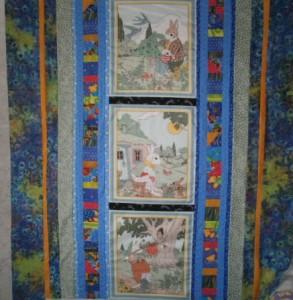 Lani Longshore baby quilt