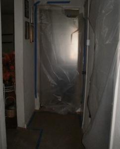 Not exactly the door to the clean room