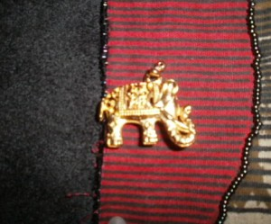 Lani Longshore elephant pendant