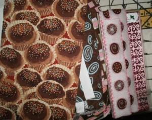 Lani Longshore chocoate fabric