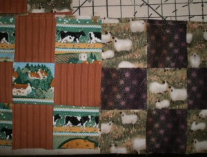 Sheep and cow 9-Patches