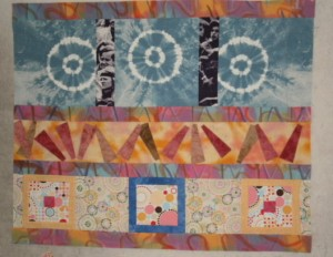 My row quilt