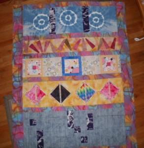Lani Longshore row quilt