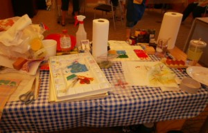Lani Longshore workshop table C