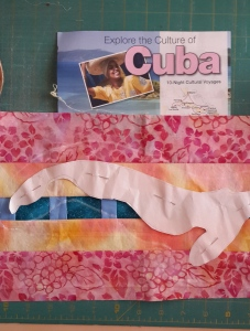 Lani Longshore strip-pieced Cuba