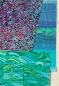 Lani Longshore sea fabric