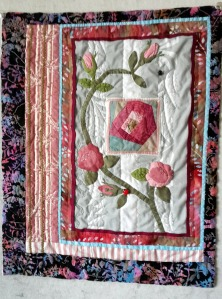 Lani Longshore rose quilt