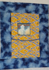 Lani Longshore yellow art quilt