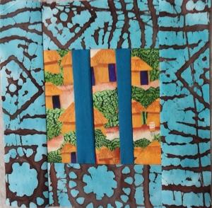Lani Longshore framed huts block