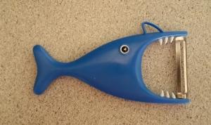 Lani Longshore shark peeler