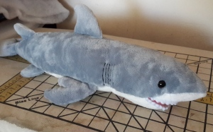 Lani Longshore stuffed shark