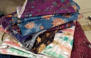 Lani Longshore fabric stack