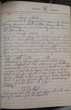 Lani Longshore Noah's diary